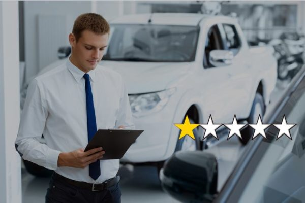 How to deal with negative online customer reviews as a car dealership